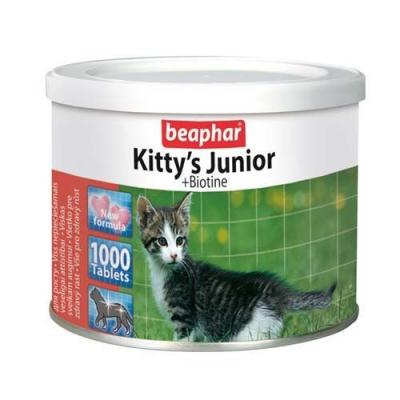 Витамины Beaphar Kitty's Junior + Biotin, для котят