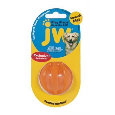 "Игрушка для собак мячик ""Заводной писк"", 5 см, JW Pet Squaky Ball Small"