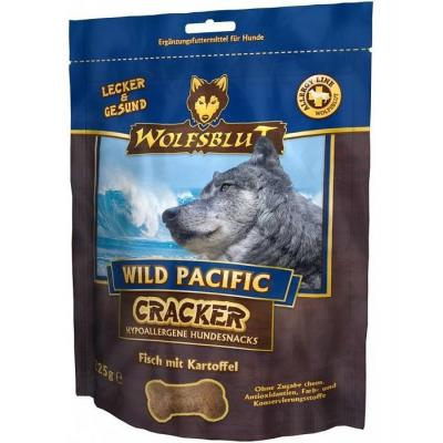 Крекер Wolfsblut Wild Pacific Cracker, Дикий океан c рыбой и картофелем