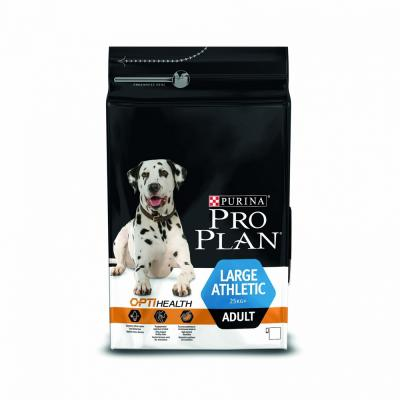Сухой корм Purina Pro Plan для собак крупных пород атлетически сложенных с курицей, Adult Large Breed Athletic Chicken