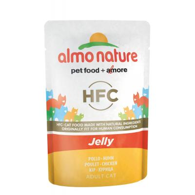 Паучи Almo Nature курица в желе для кошек, Classic Nature Jelly - Cat Chicken